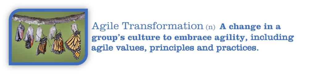 Agile Transformation Defined
